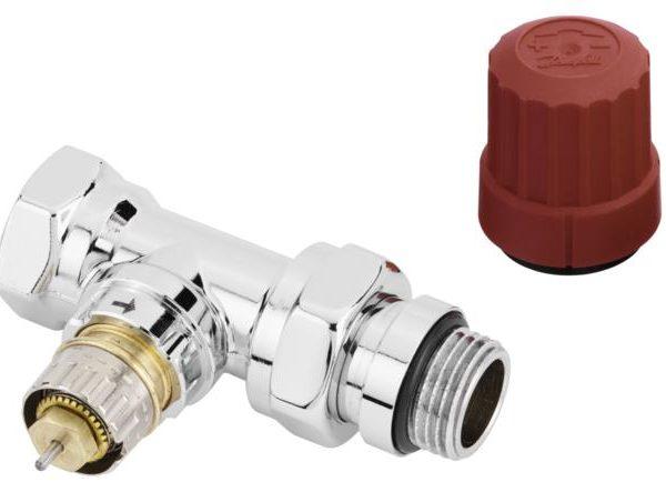 a także z grzejnikami z połączeniem 50 mm. Nowa seria zaworów doskonale komponuje się z pozostałymi elementami wnętrza. Z zaworami możemy stosować głowice z połączeniem typu RA tj.RA 2000