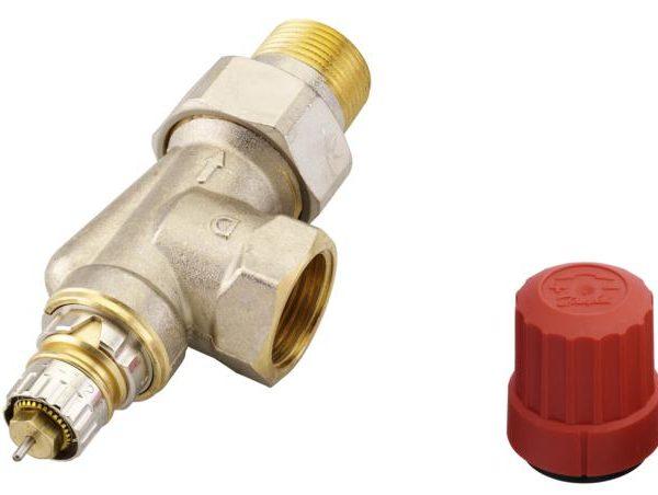 zapewniając optymalny rozdział wody w instalacji. Nastawa wstępna umożliwia dokładne uzyskanie nominalnego przepływu