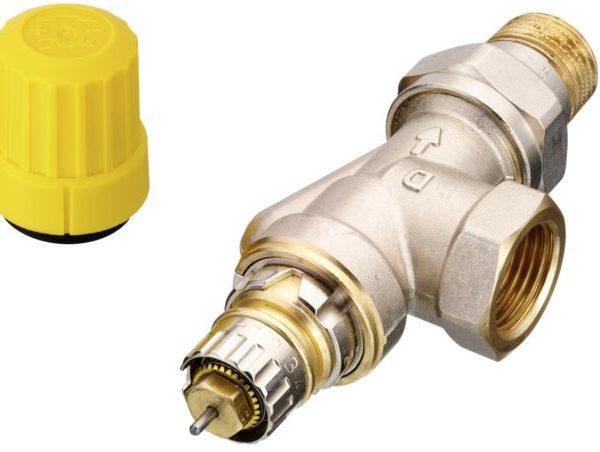 zapewniając optymalny rozdział wody w instalacji. Zawory RA-UN można stosować w instalacjach niskoprzepływowych