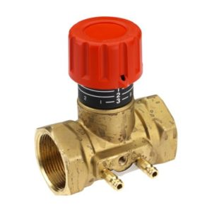 co pozwala na pomiar przepływu w instalacji. Dodatkowo zawór posiada gwintowane gniazdo rurki impulsowej do ASV-PV. Maksymalne ograniczenie przepływu w poszczególnych pionach uzyskiwane jest po zastosowaniu w instalacji zaworów ASV-PV wraz z ASV-I.