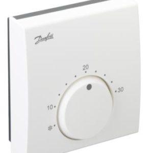 z czujnikiem temperatury podłogi i zabezpieczone przed manipulacją.