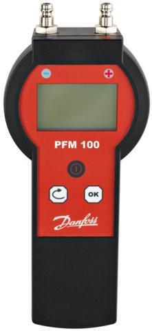 Cyfrowy przyrząd PFM100 do pomiaru ciśnienia różnicowego