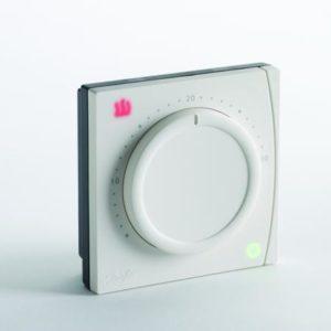że ustawianie temperatur jest prostą czynnością podobnie jak ograniczanie min. i maks. zakresu regulacji. Wszystkie termostaty serii RET1000 posiadają stylowe podświetlenie ikon LED