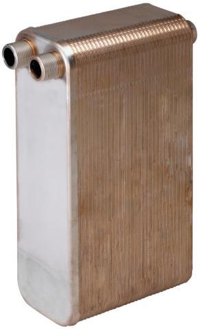 płytowe wymienniki ciepła wykonane z płyt ze stali nierdzewnej