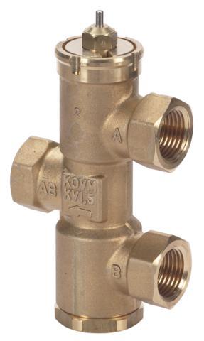 które mogą być stosowane między innymi do regulacji wody zasilającej w klimakonwektorach i nagrzewnicach indukcyjnych.