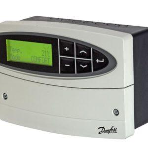 układach ciepłowniczych oraz kotłowych. Jest to regulator elektroniczny do regulacji. pogodowej (ogrzewanie). stałotemperaturowej (przygotowanie CWU