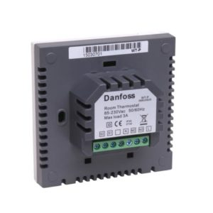 gdyż napędy termiczne zasilane 230 V są podłączane bezpośrednio. Termostaty można również podłączyć poprzez listwę połączeniową