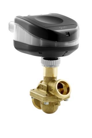 w połączeniu z liniową i niezależną od wahań ciśnienia charakterystyką zaworu AB-QM