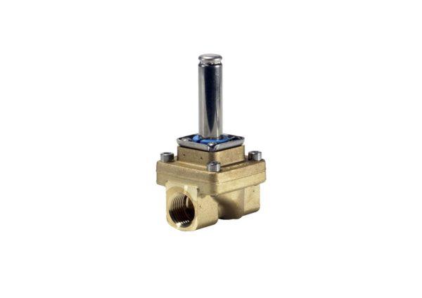 EV250B, zawory elektromagnetyczne 2/2-drożne z serwosterowaniem i wspomaganiem otwarcia
