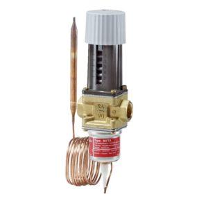 AVTA, zawory termostatyczne do wody chłodzącej z kapilarą i czujnikiem