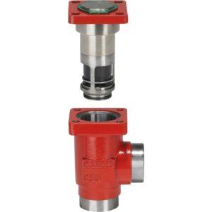 NPT (ANSI/ASME B 1.20.1)(DN 15-32) typ połączeń. Maksymalne ciśnienie pracy: 52 bar g (754 psi g). Zakres temperatury: -60 - +150°C (-76 - +302°F).