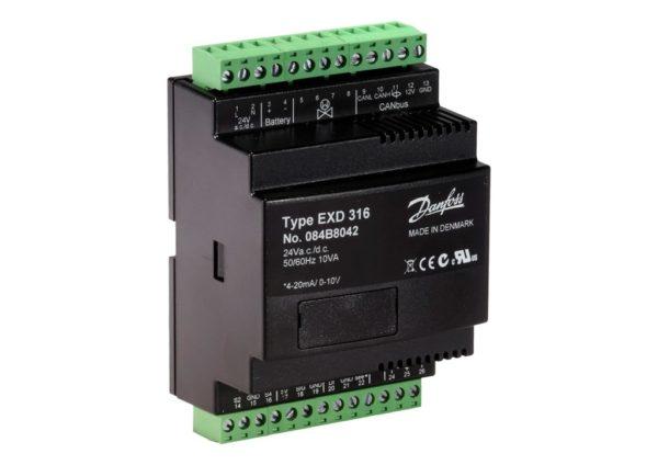 EXD316, Sterownik zaworu elektronicznego, regulator przegrzania