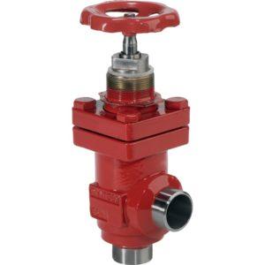 SVA-S/SVA-L (DN 15-65): 52 bar (754 psi) przy –50°C/+50°C (–58°F/+122°F). Maksymalne ciśnienie robocze