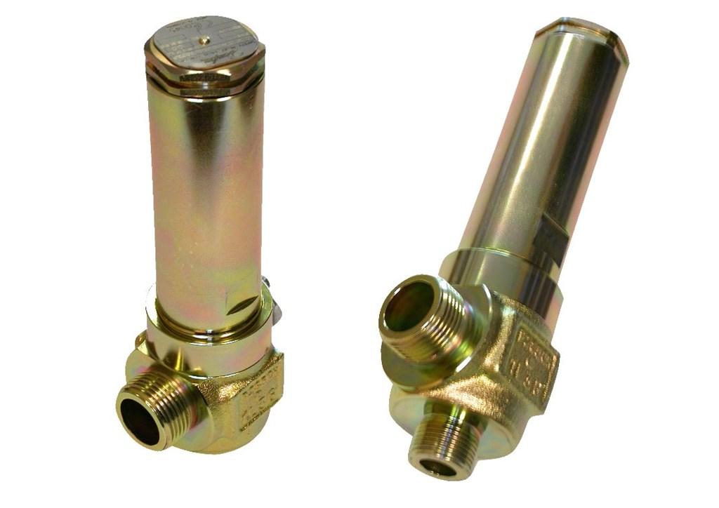 SVA 15 T, standardowa nastawa ciśnienia z certyfikatem TÜV