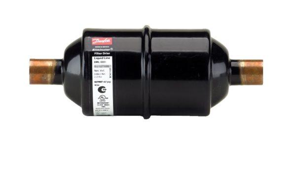 DML, filtr odwadniacz, przyłącza miedziane lutowane