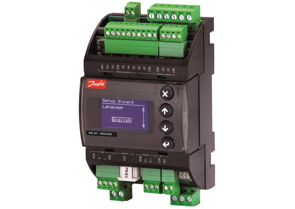 Modbus on RS485: galvanic isolation (500 V d.c.)