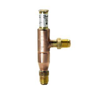 KVC, przyłącza śrubunkowe, do regulacji obejściem gorącego gazu