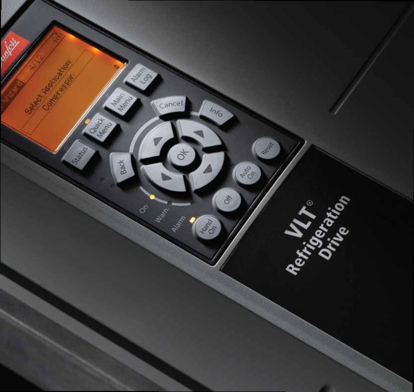 falownik vlt refrigeration drive Karty aplikacyjne