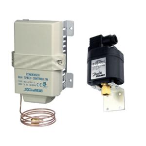 Sterowniki elektroniczne: regulacja prędkości sprężarek, skraplaczy i wentylatorów
