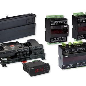 Sterowniki elektroniczne: regulatory parownikowe z elektronicznie sterowanym zaworem rozprężnym