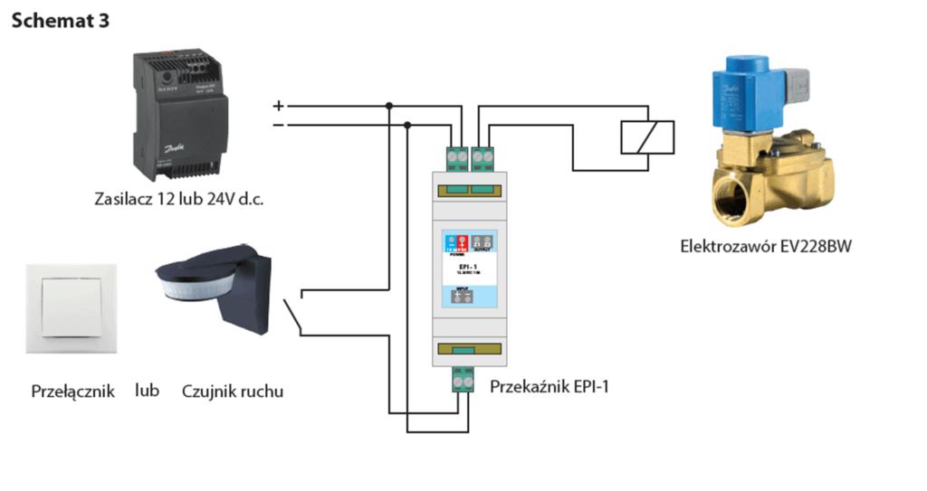 zawory bistabilne sterowanie schemat3 1024x543 Jak sterować zaworem bistabilnym EV228BW