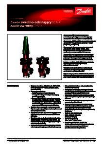 Zawory zwrotno odcinające SCA zawory zwrotne CHV pdf 212x300 Zawory zwrotno odcinające SCA, zawory zwrotne CHV